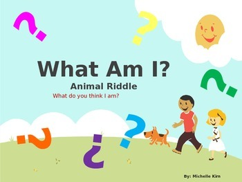 128 animal riddles (What Am I?): Guess who? (Level 1-4)