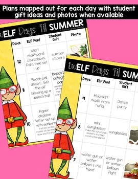 End of the Year Classroom Elf Activities