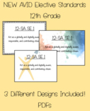 AVID Standards (NEW) - 12th Grade