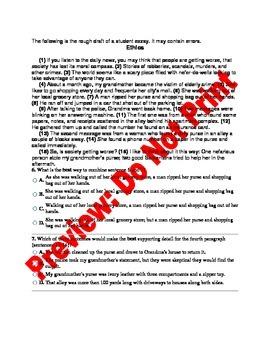 12th Grade CCSS ELA Benchmark Assessment