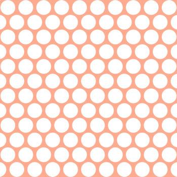 12x12 Digital Paper - Essentials & White: Jumbo Polka Dots - Inverted (600dpi)