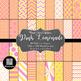 12x12 Digital Paper - Color Scheme Bundle: Marketplace (600dpi)