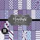 12x12 Digital Paper - Color Scheme Bundle: Winter (600dpi)