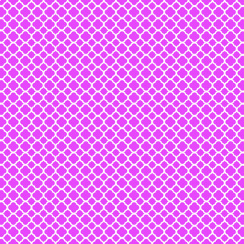 12x12 Digital Paper - Colorful and White - Quatrefoil (600dpi)
