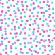 12x12 Digital Paper - Confetti: White Background - Colorfu
