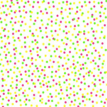 12x12 Digital Paper - Confetti: White Background - Small Colorful (600dpi)