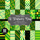 12x12 Digital Paper - Holiday Collection: St. Patrick's Day