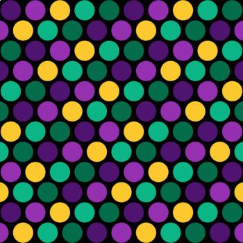 12x12 Digital Paper - Mardi Gras Collection (600dpi)