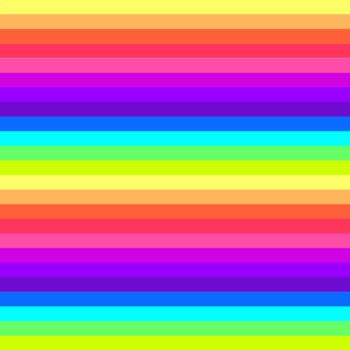 12x12 Digital Paper - Rainbow: Neon