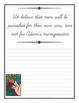 13 Articles of Faith Copywork Notebook