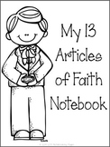 13 Articles of Faith Tracing Notebook