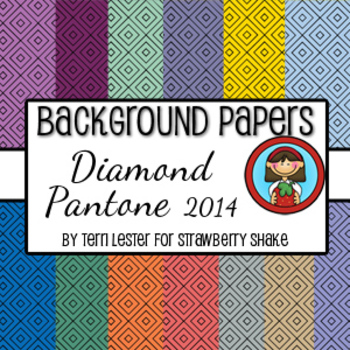 13 Background Papers Diamond Pantone 2014 12x12 for person