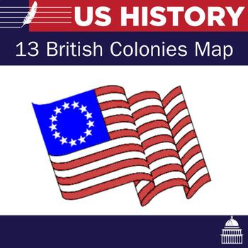 13 British Colonies Map Assignment
