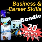 Business and Career Skills 20 Lessons Activity Bundle