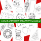 13 Christmas Shape Books for Creative Writing, Reports, Po