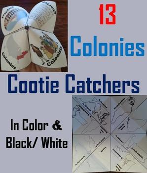 Thirteen Colonies Activity (Colonial America)