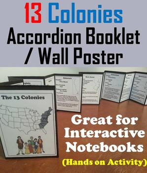 Thirteen Colonies Activity (Colonial America)