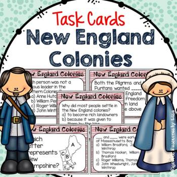 13 Colonies Task Card Bundle