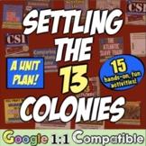 13 Colonies Activities Unit Bundle | 13 Colonies Colonial