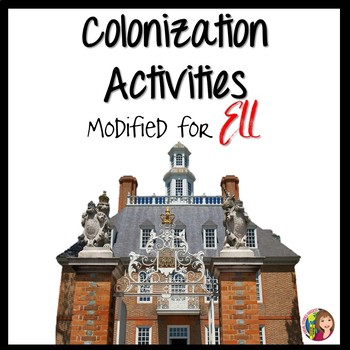13 Colonies Bundle of Activities for ELL