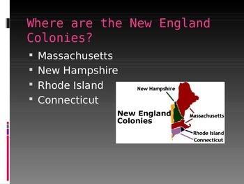 13 Colonies Basic Overview: New England, Middle, and Southern