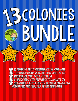 13 Colonies Bundle