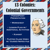 13 Colonies: Colonial Governments