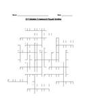 Colonization: 13 colonies / Crossword Puzzle