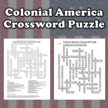 13 Colonies Crossword