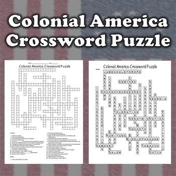 13 Colonies Crossword