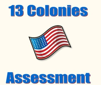 13 Colonies ELA PARCC-like Assessment (RI.5.1)