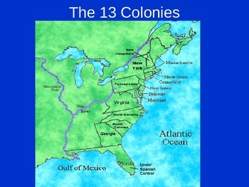 Colonization: 13 colonies Economics and Geographics Notes