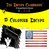 13 Colonies Escape Room   The Escape Classroom
