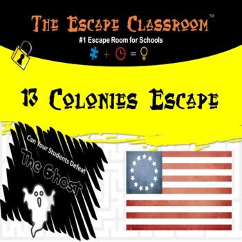 13 Colonies Escape Room | The Escape Classroom