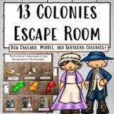 13 Colonies Escape Room   Digital Activity