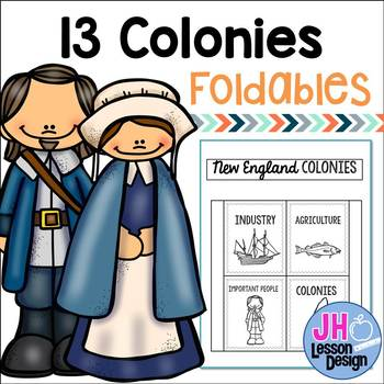 13 Colonies Foldables
