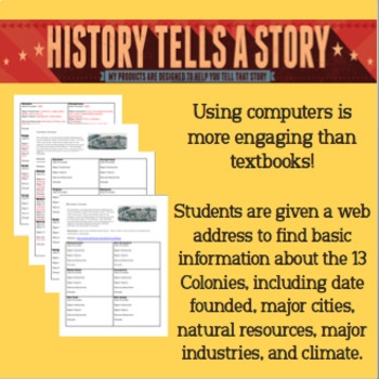 13 Colonies: Gathering Data from the Web!