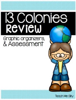 13 Colonies Graphic Organizers FREEBIE