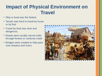 13 Colonies: Impact of the Environment on Society PowerPoint