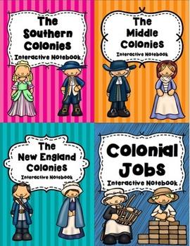 13 Colonies Interactive Notebook Bundle