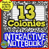 13 Colonies Interactive Notebook: 12 Activities for American History Notebooks!