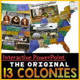 13 Colonies PowerPoint & Google Slides | Google Classroom  Distance Learning