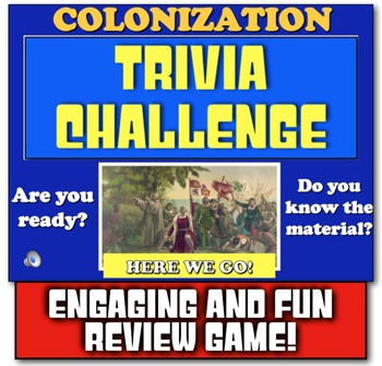 13 Colonies Review! Play Jeopardy-like Game to Review 13 Colonies!
