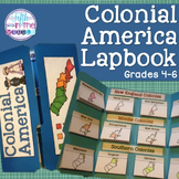 13 Colonies/Colonial America Lapbook/Interactive Notebook for Upper Elementary