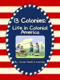 13 Colonies: Life in Colonial America - Learning Stations SS4H3