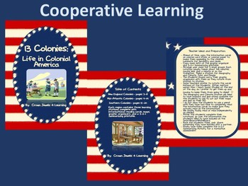 13 Colonies:  Life in Colonial Times Complete Bundle