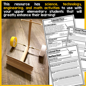 13 Colonies PBL and STEM Bundle | Project Based Learning