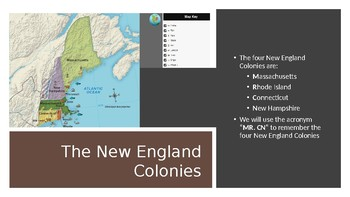 13 Colonies Part I: The New England Colonies