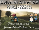 13 Colonies Paired Passages: Perspectives of Colonial America