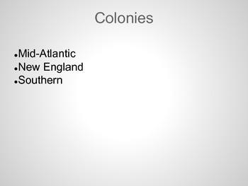 13 Colonies PowerPoint